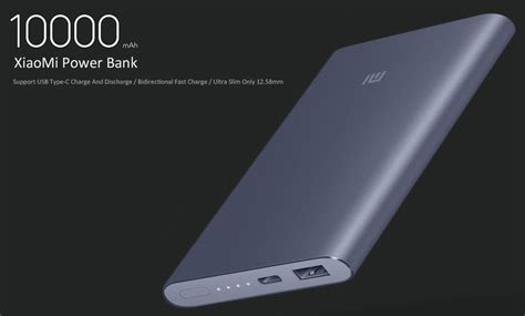 Original Xiaomi Mi 2 Pro Powerbank 10000mah Slim Fast Charging original xiaomi mi pro 10000mah type c usb power bank 27