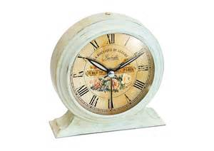 shabby chic alarm clock
