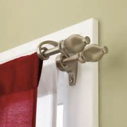 Gt curtain rods accessories gt umbra serif double curtain rod set