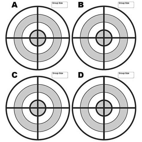 printable precision targets free targets midwayusa