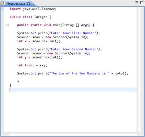 tutorial java util java tutorial ii data types part ii integers byte