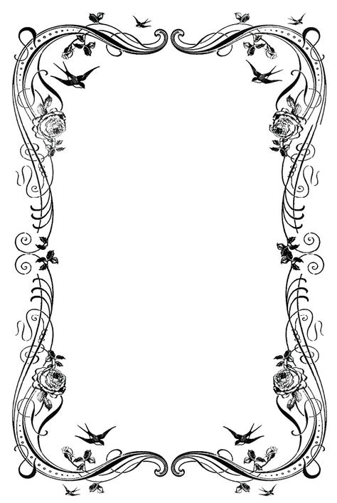 frame pattern decor 19 decorative border designs images free clip art