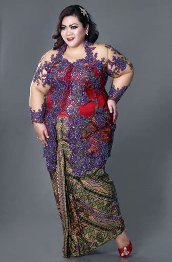 33 Model Baju Kebaya Modern Yang Elegan Dikenakan   Info