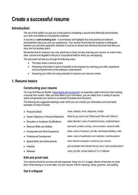 Resume Skills And Abilities Sle resume skills and ability how to create a resume doc