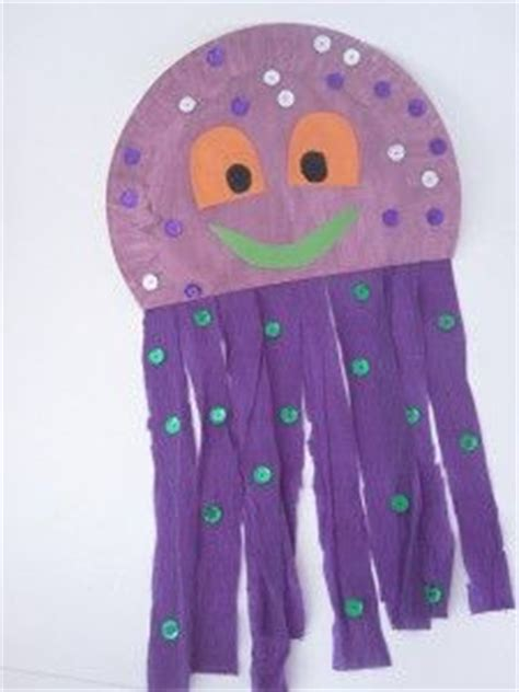 How To Make Jellyfish With Paper Plates - 1000 ideas about paper plate jellyfish on