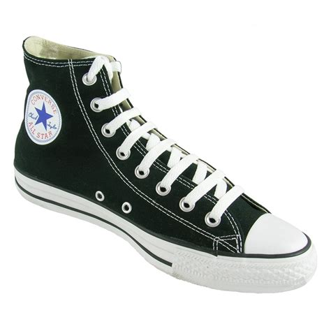 Converse Black Hight converse high tops black www imgkid the image kid
