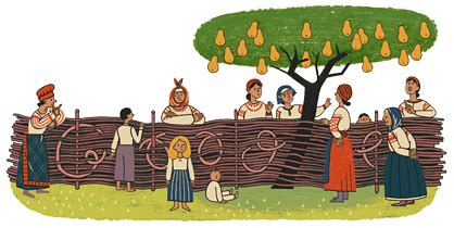 doodle name ivan ukrainian author ivan nechuy honored with doodle
