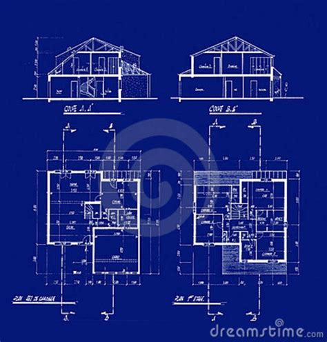 blue prints house house blueprints 4506487 model sheet blue print