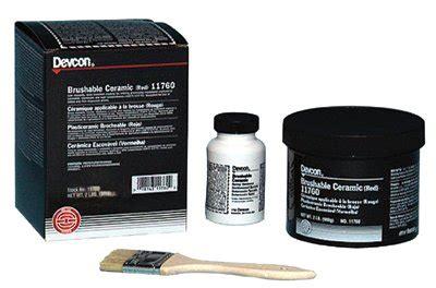Devcon Brushable Ceramic 11760 brushable ceramic devcon 230 11760 devcon adhesives