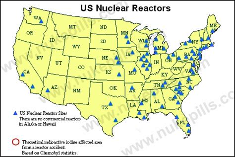 nuclear power plant map usa maps of u s nuclear reactor locations with zip code locator