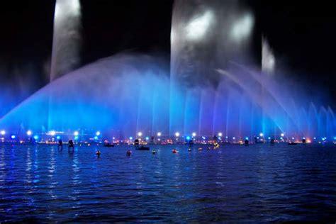 water lights pentair laminar fountains inground pool lights