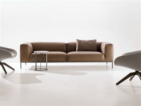 couch italia frank leather sofa by b b italia design antonio citterio