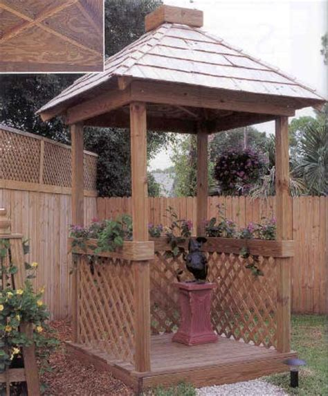 mini gazebo mini gazebo outdoor wood plans immediate