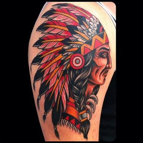 traditional indian tattoo traditional indian chief www imgkid the