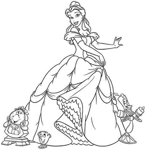 disney princess belle coloring pages to print scribebem coloring pages disney princess belle coloring