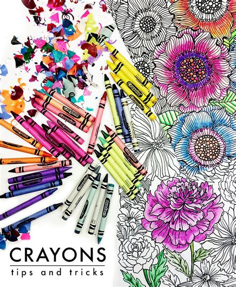coloring books for adults crayons crayons tips and tricks alisaburke bloglovin