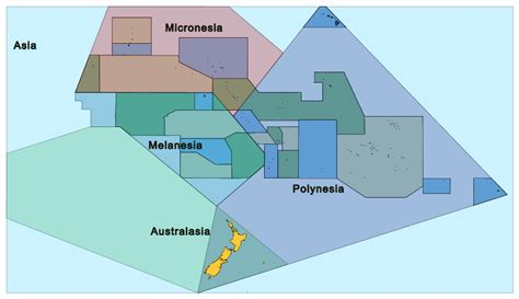 map of polynesia polynesia map my