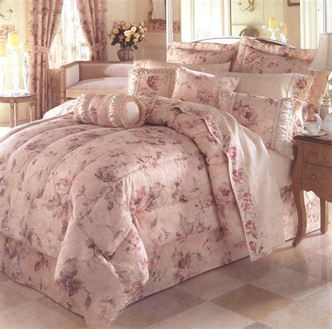 antique rose jacquard comforter set twin free shipping