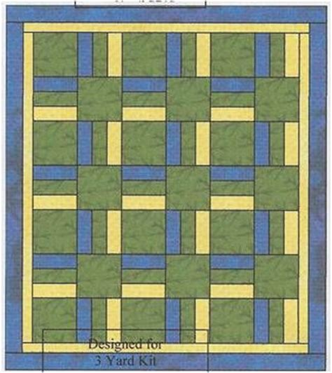 3 Yard Quilt Patterns by Wood Valley Designs 3 Yard Patterns Quilts