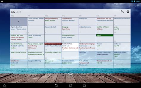Business Calendars Business Calendar Pro Android Apps On Play
