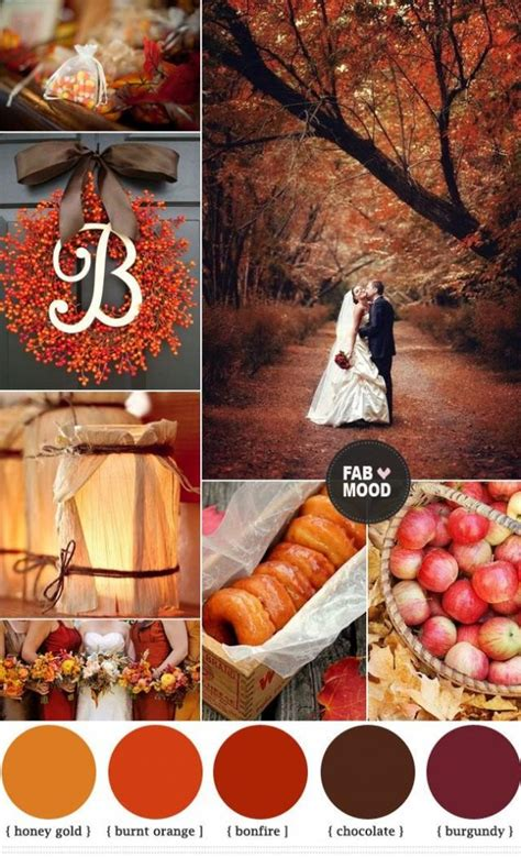 fall wedding fall rustic wedding ideas 2140414 weddbook