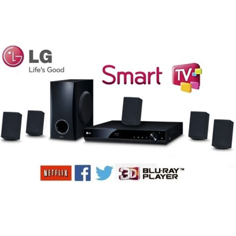 Home Theater Lg Bh4030s home theater bluray 3d lg bh4030s smart tv 330w 5 1 canal