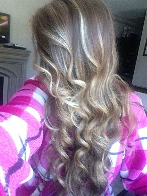revlon iron turned hair pink streaks highlights using revlon frost n glow