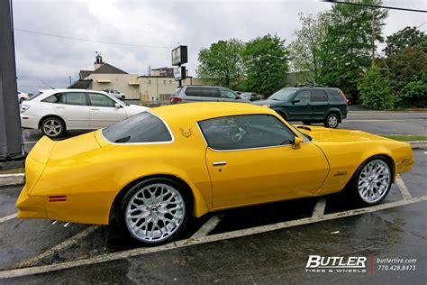 Wheels Pontiac Firebird by Pontiac Firebird With 20in Forgiato Niddo Wheels