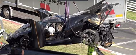 koenigsegg one 1 crash video koenigsegg one 1 nurburgring crash during testing