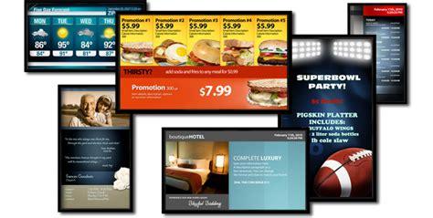 Regener8 Services Digital Signage Tv Signage Templates