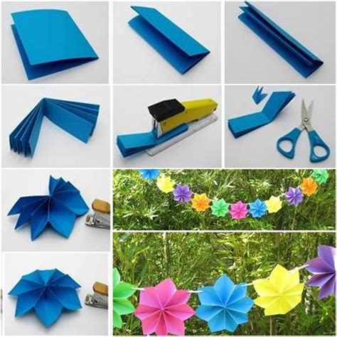 How To Make Decorations With Paper - wonderful diy paper decoration for