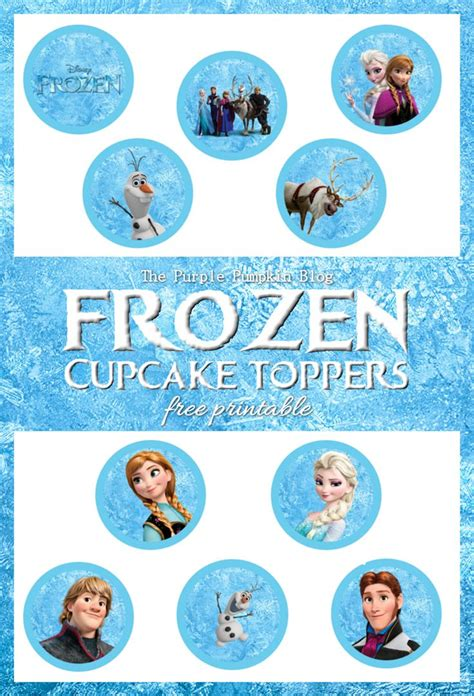 25 unique frozen cupcake toppers ideas on frozen cake frozen printable and