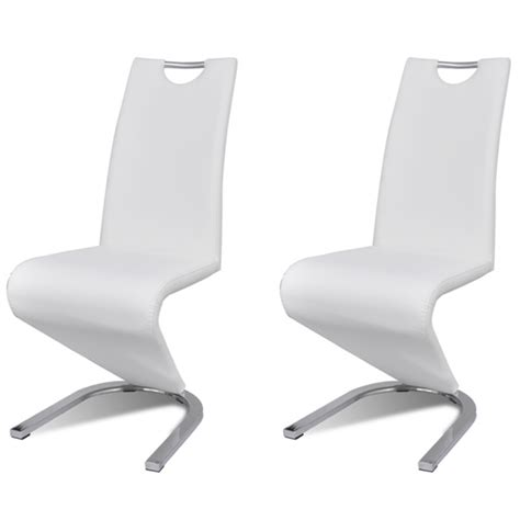 chaises salle à manger design chaises blanches design salle manger id 233 es de d 233 coration
