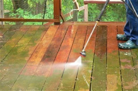 pressure washer   wood deck deck stain guide