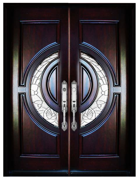 Should Exterior Doors Swing In Or Out Mahogany Exterior Front Entry Wood Door 580e 32 Quot X80