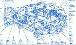 ford telstar  starter electrical circuit wiring diagram carfusebox
