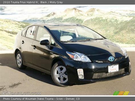 2010 Toyota Prius Iv Black 2010 Toyota Prius Hybrid Iv Gray Interior