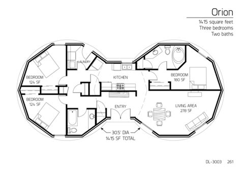 dome house floor plans floor plans 3 bedrooms monolithic dome institute