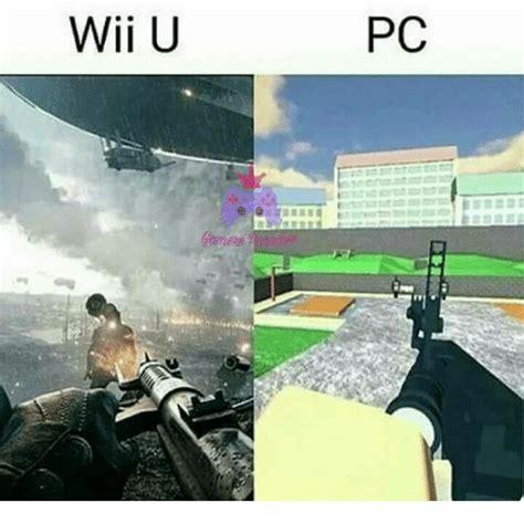 Wii U Meme - wii u pc meme on sizzle