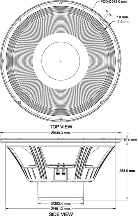Komponen Speaker P Audio Sd 21 p audio sd21 2000n 21 quot woofer the p audio sd21 2000n is