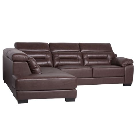 pure leather sofa leather corner sofa adriana chestnut price 1288 48 eur