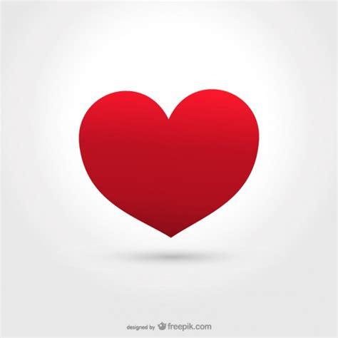 imagenes de corazones grandes y rojos coraz 243 n rojo grande descargar vectores gratis