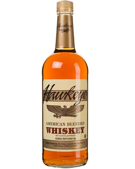 Top Shelf Canadian Whiskey by Hawkeye Blend Whiskey Iowa Abd
