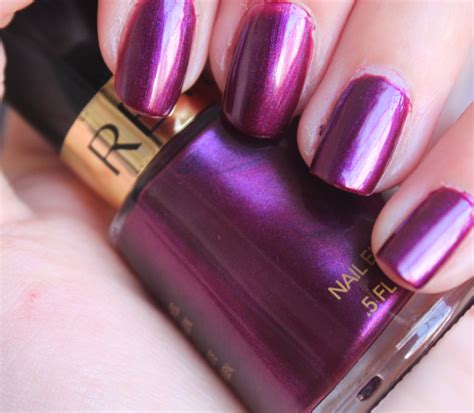 plum nail color revlon plum attraction a obsessed