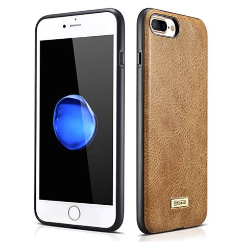 Original Leather Iphone 7plus icarer iphone 7 plus shenzhou genuine leather fashional back cover