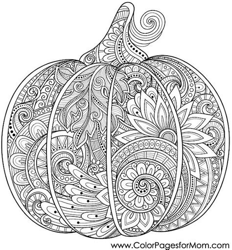 Pumpkin Coloring Pages For Adults | coloring pages for adults halloween pumpkin coloring page