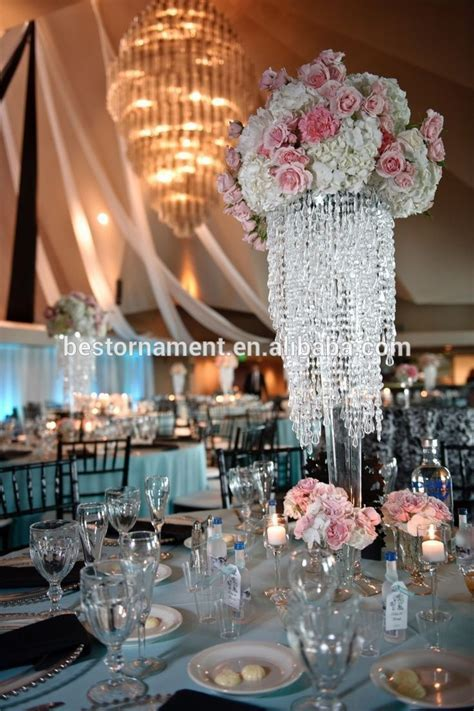 Wholesale Wedding Crystal Table Centerpiece Stands   Buy