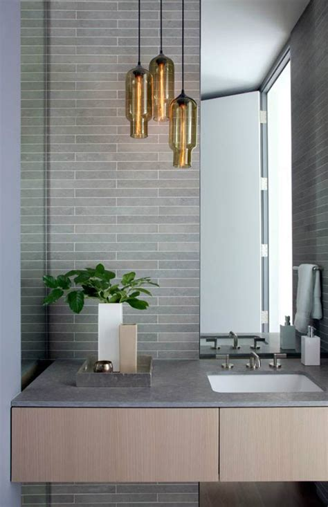 pendant lights bathroom niche modern lighting bathroom