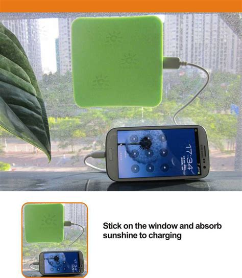 Power Bank New Tech ce rohs fcc certification 2017 new technology secure solar power bank window solar charger