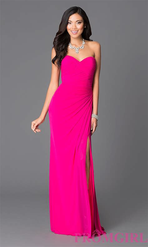 Dsbm223781 Pink Dress Dress Pink abbie vonn pink prom dress promgirl